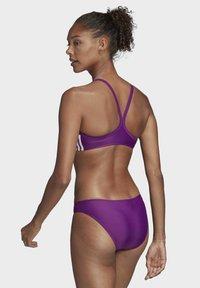 adidas Performance - 3-STRIPES BIKINI - Bikini - purple - 2