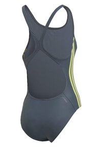 adidas Performance - ATHLY V 3-STRIPES SWIMSUIT - Maillot de bain - blue - 8