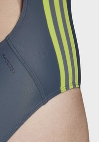 adidas Performance - ATHLY V 3-STRIPES SWIMSUIT - Maillot de bain - blue - 6