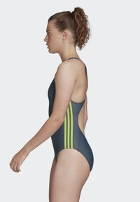 adidas Performance - ATHLY V 3-STRIPES SWIMSUIT - Maillot de bain - blue - 3