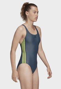 adidas Performance - ATHLY V 3-STRIPES SWIMSUIT - Maillot de bain - blue - 1