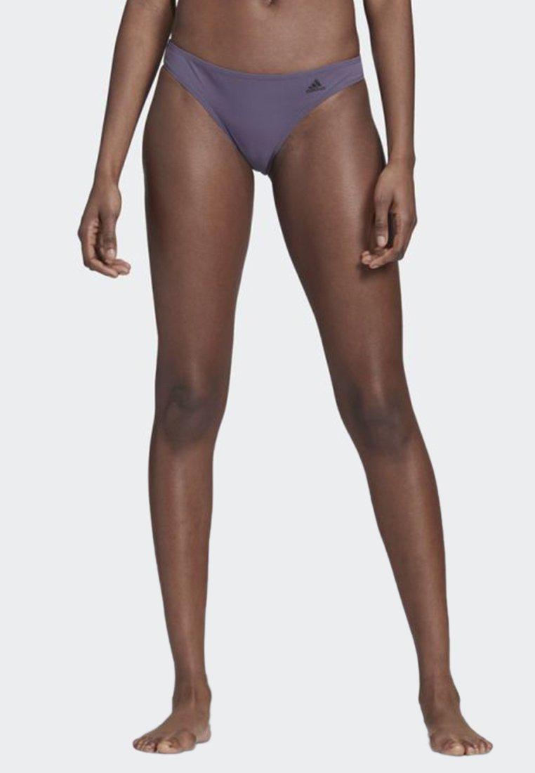 adidas Performance - HIPSTER BIKINI BOTTOMS - Trusser - purple