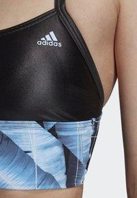 adidas Performance - ALL ME SWIM TOP - Bikiniyläosa - black - 5