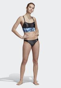 adidas Performance - ALL ME SWIM TOP - Bikiniyläosa - black - 1