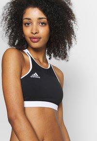 adidas Performance - VOLLEY - Bikinitop - black/white - 3