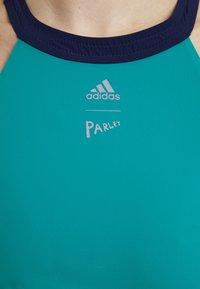 adidas Performance - PARLEY - Bikinit - turquoise/black - 5