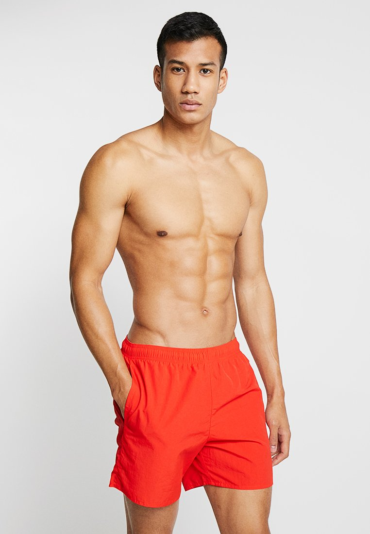 adidas Performance - SOLID  - Swimming shorts - actred
