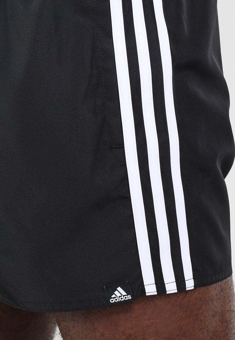 adidas Performance Short de bain - black/white