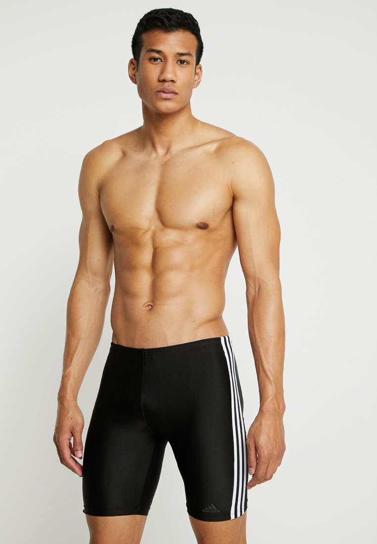 adidas Performance - FIT JAM  - Surfshorts - black/white