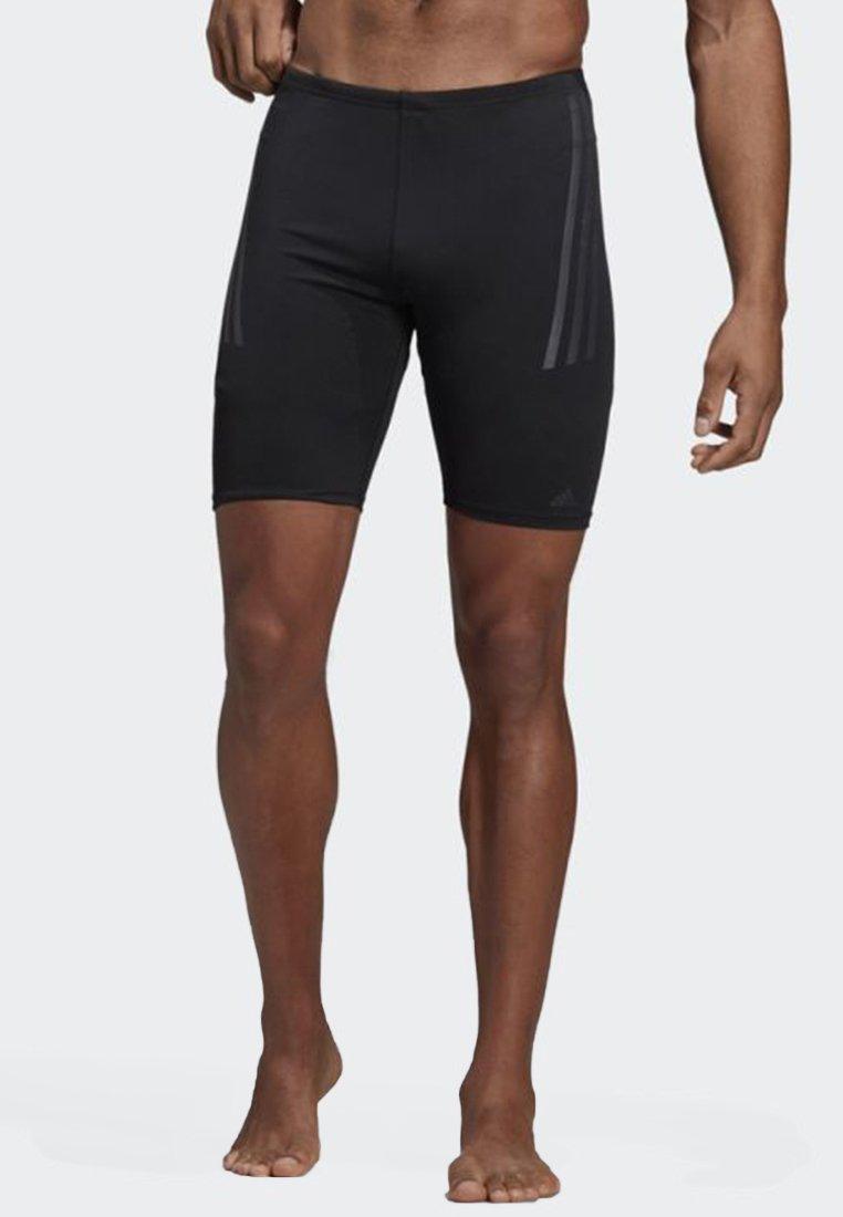 adidas Performance - PRO 3-STRIPES SWIM JAMMERS - Badeshorts - black/grey