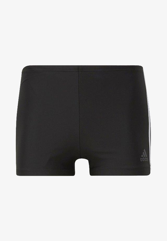 3-Stripes Swim Boxers - Zwemshorts - black