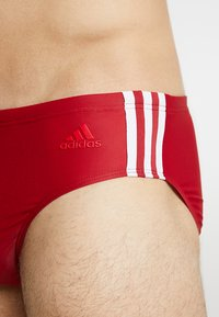 adidas Performance - FIT - Swimming shorts - maroon - 3