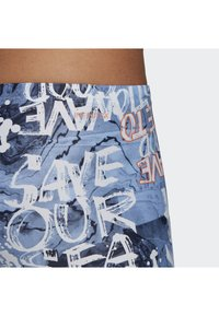 adidas Performance - PARLEY SWIM JAMMERS - Zwemshorts - blue/pink - 4