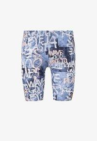 adidas Performance - PARLEY SWIM JAMMERS - Zwemshorts - blue/pink - 7
