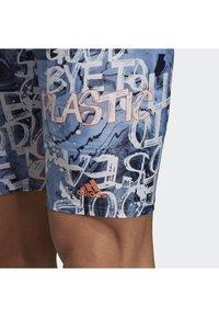adidas Performance - PARLEY SWIM JAMMERS - Zwemshorts - blue/pink - 6