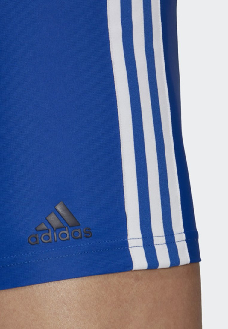 Adidas Performance 3-stripes Swim Boxers - Badebukser Blue/white