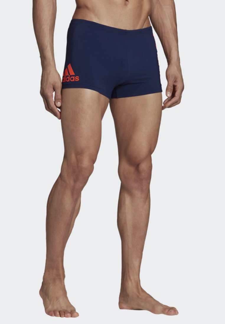 adidas Performance - PLACED PRINT FITNESS SWIM BOXERS - Badehose Pants - blue
