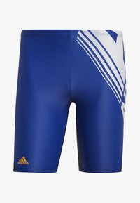 adidas Performance - COLORBLOCK SWIM FITNESS JAMMERS - Zwemshorts - blue - 7