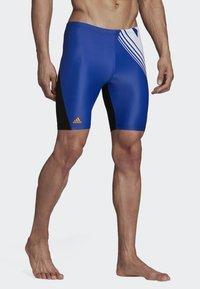 adidas Performance - COLORBLOCK SWIM FITNESS JAMMERS - Zwemshorts - blue - 3