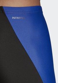 adidas Performance - COLORBLOCK SWIM FITNESS JAMMERS - Zwemshorts - blue - 5