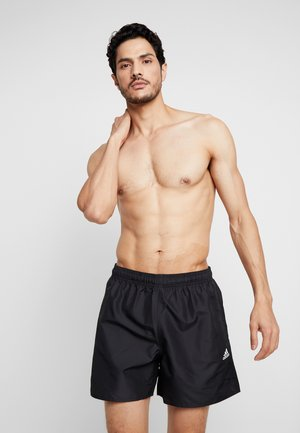 SOLID - Shorts da mare - black