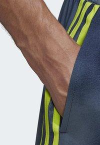 adidas Performance - 3-STRIPES FADE CLX SWIM SHORTS - Costume da bagno - blue - 4