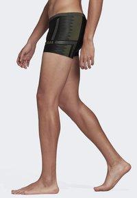 adidas Performance - RAINBOW SWIM BRIEFS - Swimming trunks - black - 2