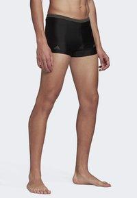 adidas Performance - RAINBOW SWIM BRIEFS - Swimming trunks - black - 3