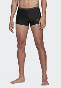 adidas Performance - RAINBOW SWIM BRIEFS - Swimming trunks - black - 0