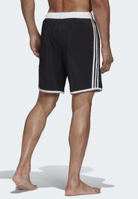 adidas Performance - 3-STRIPES CLX SWIM SHORTS - Shorts da mare - black - 2