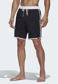 adidas Performance - 3-STRIPES CLX SWIM SHORTS - Shorts da mare - black - 1