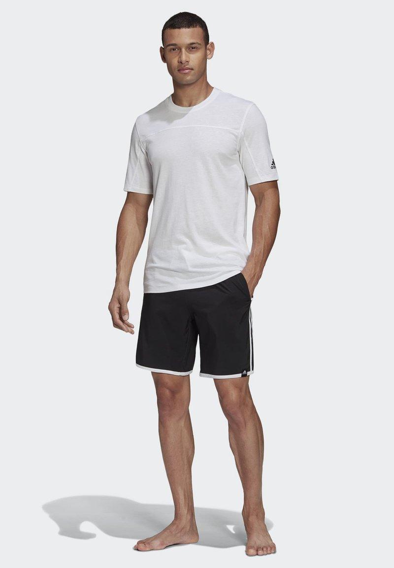adidas Performance - 3-STRIPES CLX SWIM SHORTS - Shorts da mare - black