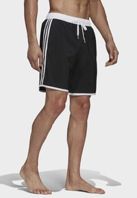 adidas Performance - 3-STRIPES CLX SWIM SHORTS - Shorts da mare - black - 4