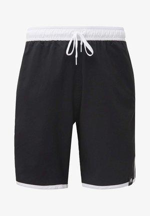 3-STRIPES CLX SWIM SHORTS - Badeshorts - black