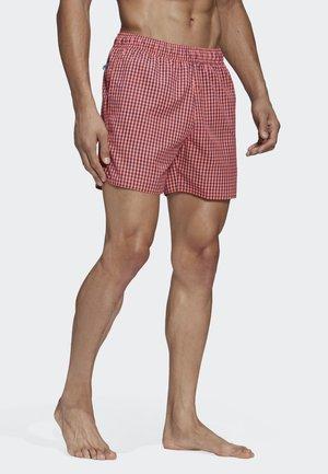 Shorts da mare -  solar red