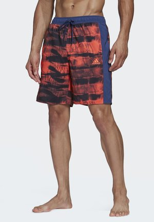 3-STRIPES CLX GRAPHIC SWIM SHORTS - Uimashortsit - tech indigo