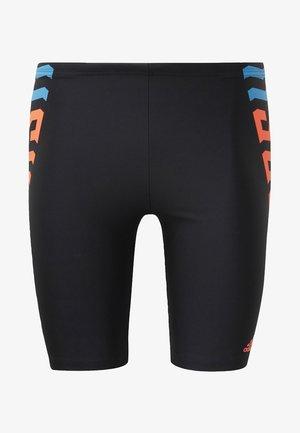 WORDING  - Swimming shorts - black
