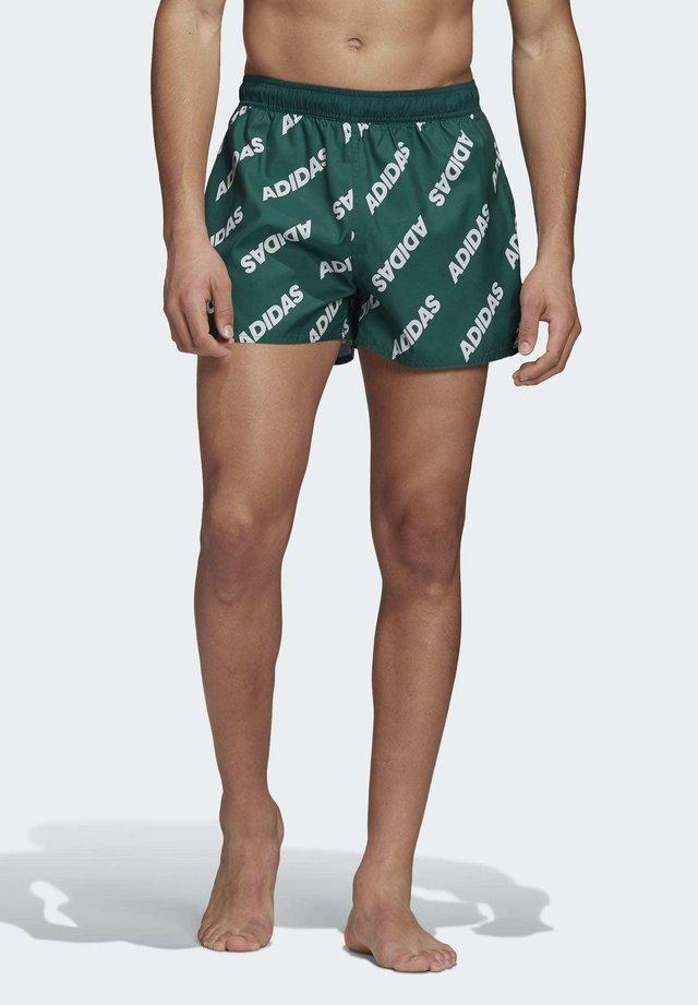 PRINTED CLX SWIM SHORTS - Shorts da mare - green
