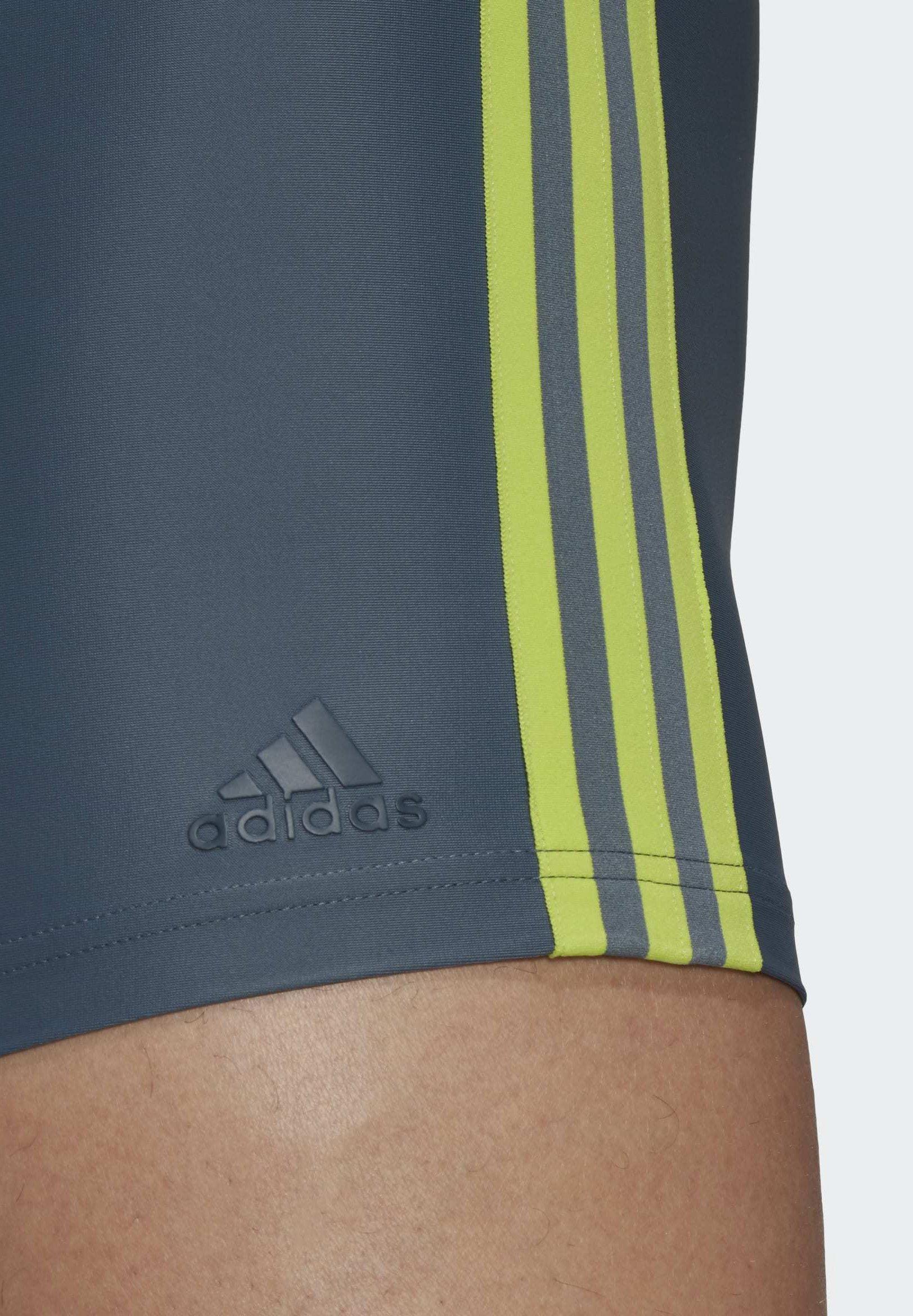 adidas Performance TRIPES SWIM BOXERS - Swimming shorts - blue