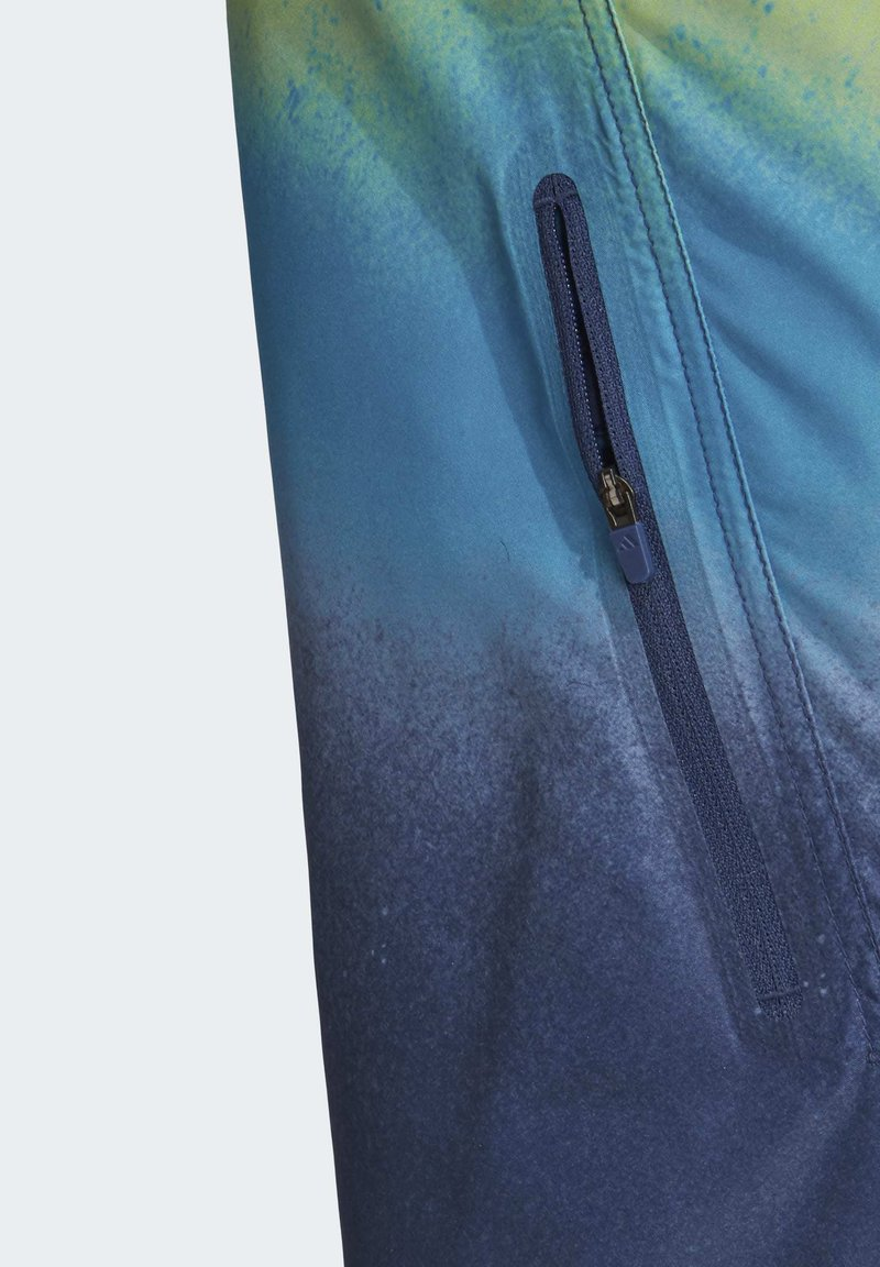 adidas Performance 2020-05-01 FADING TECH BOARD SHORTS - Badeshorts - blue