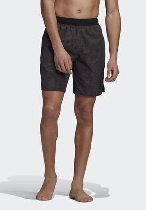 CHECK CLX SWIM SHORTS - Shorts da mare - black