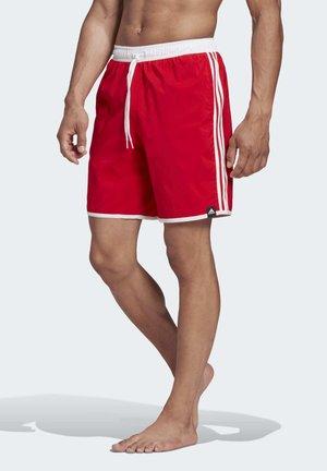 3-STRIPES CLX SWIM SHORTS - Shorts da mare - red