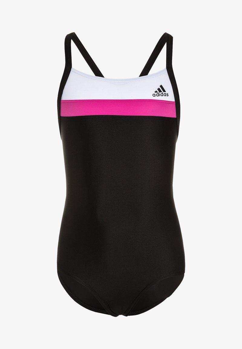 adidas Performance - SWIM INFINITEX - Badpak - black/white/shock pink