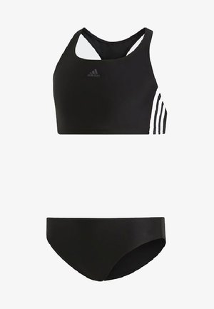 3-STRIPES BIKINI - Bikinier - black