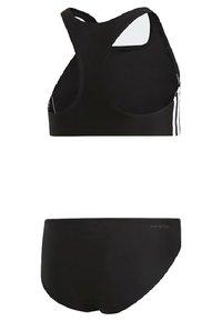 adidas Performance - 3-STRIPES BIKINI - Bikini - black - 1