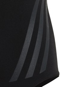 adidas Performance - PRO V 3-STRIPES SWIMSUIT - Badpak - black/ grey - 4