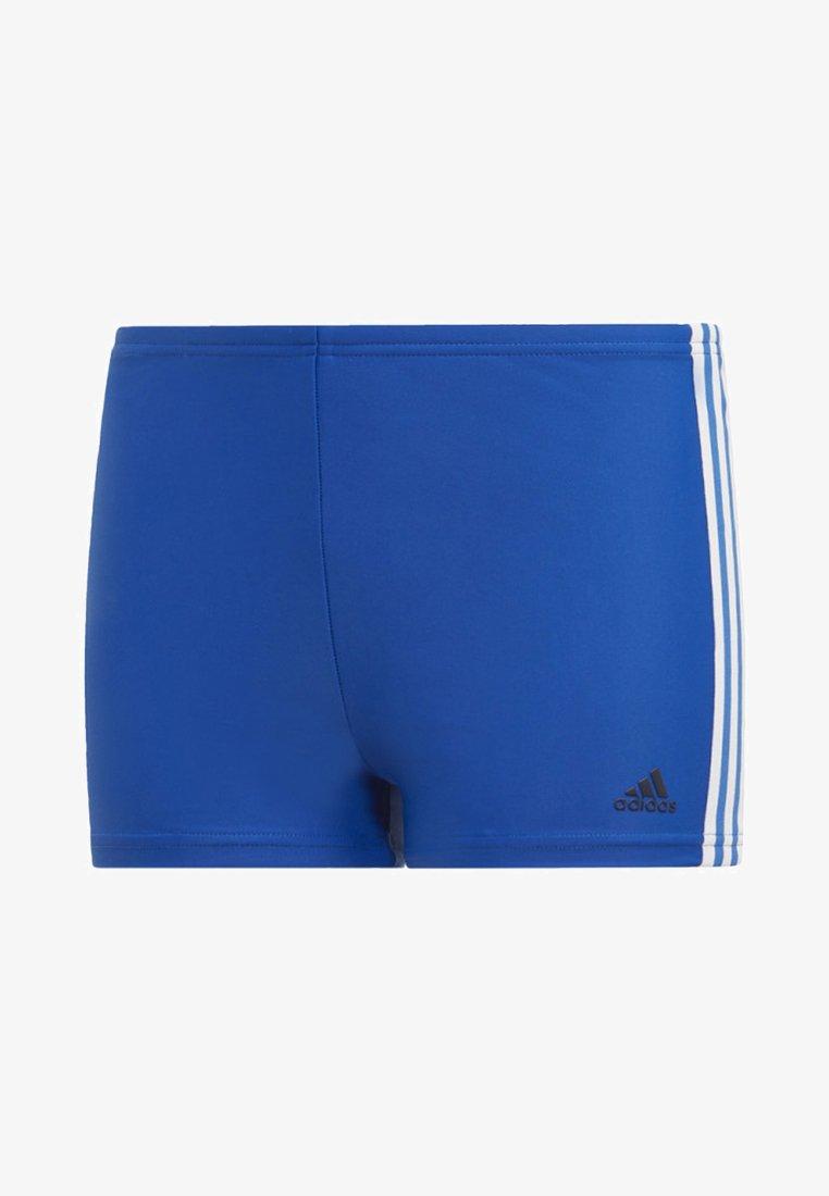 adidas Performance - 3-STRIPES SWIM BOXERS - Swimming briefs - blue