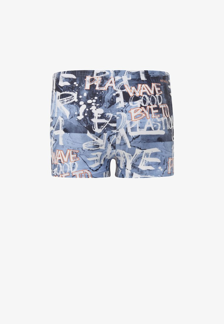 adidas Performance - PARLEY BOXERS - Swimming trunks - blue