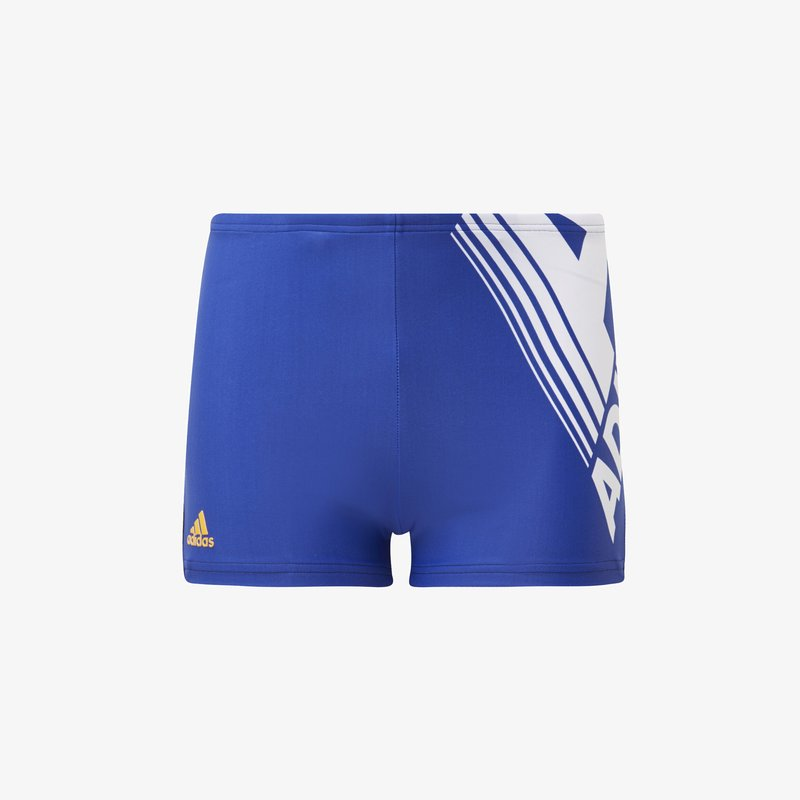 adidas Performance - FITNESS LOGO SWIM BOXERS - Shorts - blue