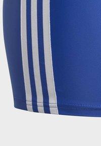 adidas Performance - STRIPES SWIM BOXERS - Uimahousut - blue - 3